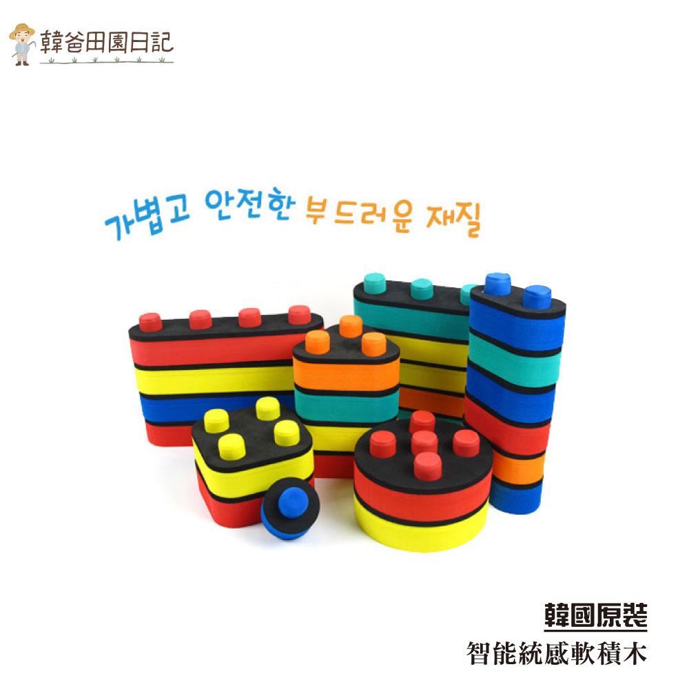 韓國原裝智能統感軟積木