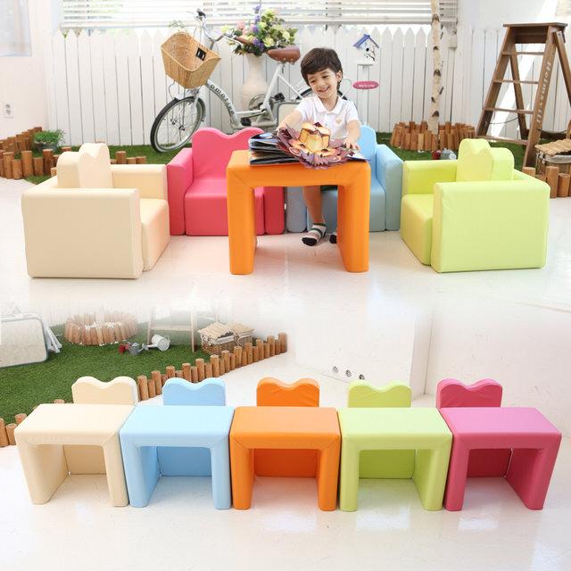 兒童沙發傢俱 IIZZ POPO 益智寶寶積木沙發 兒童節禮物 多功能 兒童書桌 椅 幼兒 兒童餐椅 餐桌 收納 組合